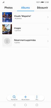 Huawei P20 lite - Photos, vidéos, musique - Envoyer une photo via Bluetooth - Étape 3