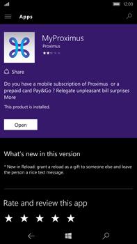Microsoft Lumia 950 XL - Applications - MyProximus - Step 8
