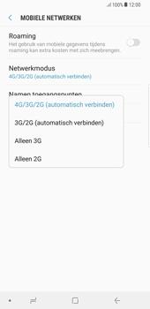 Samsung Galaxy S8 Plus - Android Oreo - Netwerk - Wijzig netwerkmodus - Stap 7