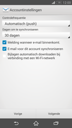 Sony D6603 Xperia Z3 - E-mail - e-mail instellen: IMAP (aanbevolen) - Stap 16