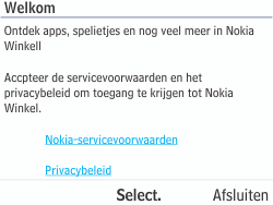 Nokia Asha 210 - Applicaties - Applicaties downloaden - Stap 4