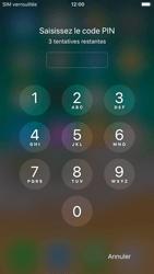 Apple iPhone 6 - iOS 11 - Premiers pas - Configurer l