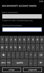 Nokia Lumia 520 - Applicaties - Account aanmaken - Stap 16