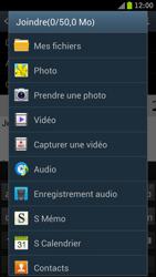 Samsung I9300 Galaxy S III - E-mail - Envoi d