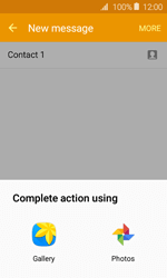 Samsung Galaxy J1 - Mms - Sending a picture message - Step 17