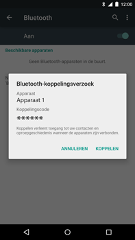 Google Nexus 6 - Bluetooth - headset, carkit verbinding - Stap 7