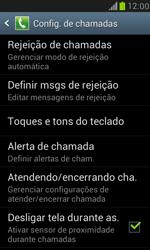 Samsung I8190 Galaxy S III Mini - Chamadas - Como bloquear chamadas de um número específico - Etapa 7