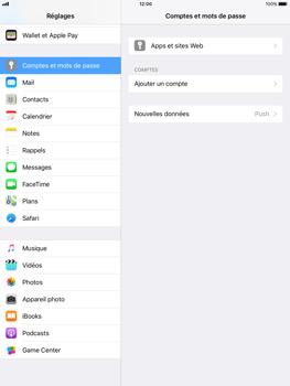 Apple iPad Pro 9.7 - iOS 11 - E-mail - Configuration manuelle - Étape 4