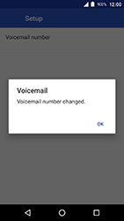 Crosscall Action X3 - Voicemail - Manual configuration - Step 13