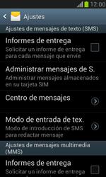 Samsung Galaxy S3 Mini - Mensajería - Configurar el equipo para mensajes de texto - Paso 5