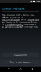 HTC One M8 - Applicaties - Account aanmaken - Stap 14