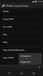 Sony C6603 Xperia Z - MMS - Configuration manuelle - Étape 15