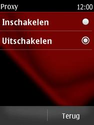 Nokia Asha 300 - MMS - handmatig instellen - Stap 11