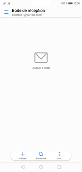 Huawei P20 - E-mail - Configuration manuelle (yahoo) - Étape 3