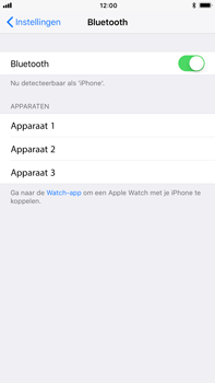 Apple Apple iPhone 6s Plus iOS 11 - Bluetooth - koppelen met ander apparaat - Stap 7