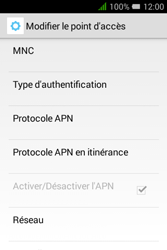 """Alcatel Pixi 3 - 3.5"""" - MMS - configuration manuelle - Étape 16"""