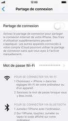 Apple iPhone SE - iOS 11 - Internet et connexion - Partager votre connexion en Wi-Fi - Étape 6
