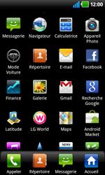 LG P920 Optimus 3D Speed - E-mail - Envoi d