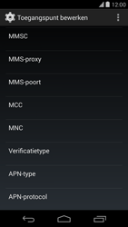 LG D821 Google Nexus 5 - Mms - Handmatig instellen - Stap 12