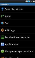 Samsung I9000 Galaxy S - Réseau - Utilisation à l