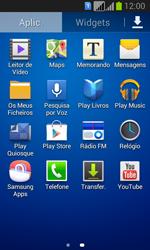 Samsung Galaxy Fresh Duos - SMS - Como configurar o centro de mensagens -  3