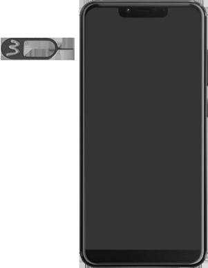 Wiko View 2 Plus - Appareil - comment insérer une carte SIM - Étape 2
