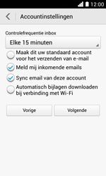 Huawei Ascend Y330 - E-mail - Account instellen (IMAP zonder SMTP-verificatie) - Stap 18