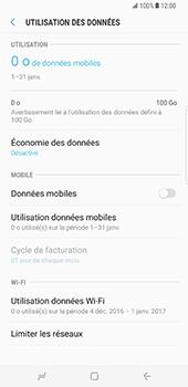 Samsung Galaxy S8 Plus - Internet - Désactiver les données mobiles - Étape 7