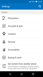 HTC Desire 626 - Device - Factory reset - Step 6
