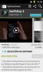 Samsung I8160 Galaxy Ace II - Aplicaciones - Descargar aplicaciones - Paso 12