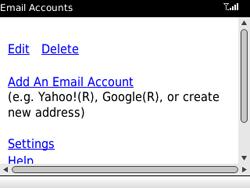 BlackBerry 8520 Curve - E-mail - Handmatig instellen - Stap 11