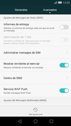 Huawei Ascend G7 - Mensajería - Configurar el equipo para mensajes de texto - Paso 7