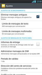 LG Optimus L9 - Mensajería - Configurar el equipo para mensajes de texto - Paso 6