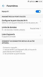 Honor 9 - Internet et connexion - Partager votre connexion en Wi-Fi - Étape 10