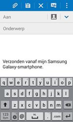 Samsung J100H Galaxy J1 - E-mail - hoe te versturen - Stap 5