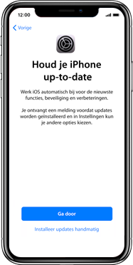Apple iPhone X - Instellingen aanpassen - Activeer het toestel en herstel jouw iCloud-data - Stap 22