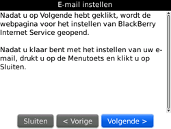 BlackBerry 9300 Curve 3G - E-mail - handmatig instellen - Stap 7