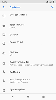 Nokia 6-1-dual-sim-android-pie - Resetten - Fabrieksinstellingen terugzetten - Stap 6