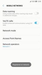Samsung G920F Galaxy S6 - Android Nougat - Network - Manually select a network - Step 11