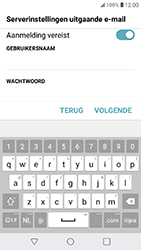 LG K11 - E-mail - Account instellen (POP3 zonder SMTP-verificatie) - Stap 18