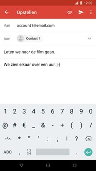 Nokia 8 Sirocco - E-mail - Bericht met attachment versturen - Stap 9