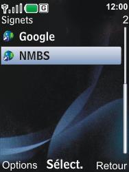 Nokia 6600i slide - Internet - Navigation sur Internet - Étape 12
