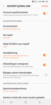Samsung galaxy-a6-plus-sm-a605fn-ds - E-mail - Instellingen KPNMail controleren - Stap 9
