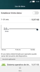 Huawei Y5 - Internet - Ver uso de datos - Paso 7