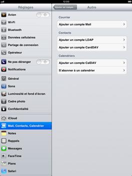 Apple iPad mini - E-mail - Configuration manuelle - Étape 6