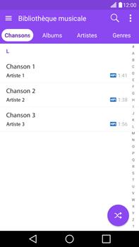 LG G4 - Photos, vidéos, musique - Ecouter de la musique - Étape 4