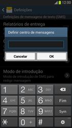Samsung Galaxy S3 - SMS - Como configurar o centro de mensagens -  7