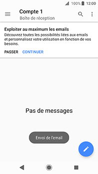 Sony Xperia XA2 Ultra - E-mail - envoyer un e-mail - Étape 14