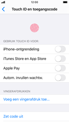 Apple iPhone SE - iOS 13 - Beveiliging - stel in of wijzig pincode voor je toestel - Stap 8