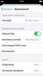 Apple iphone-se-met-ios-13-model-a1723 - E-mail - Instellingen KPNMail controleren - Stap 24